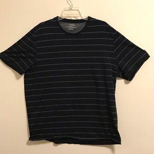 Calvin Klein Soft Pima Cotton Striped T-shirt